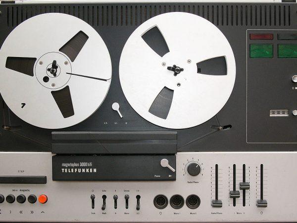 Tonband Aufnahmen