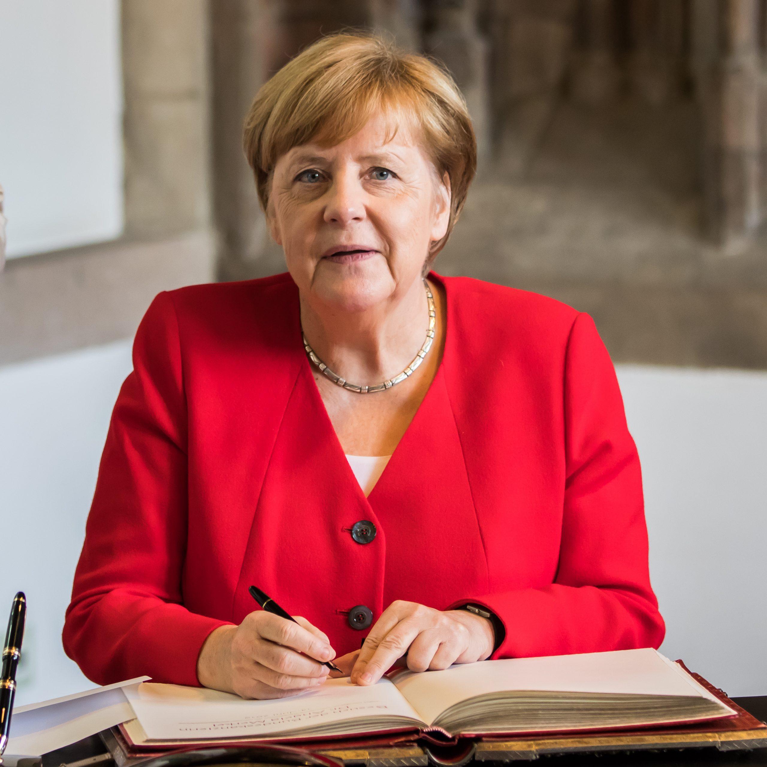 CORONA REDE AN DIE NATION: Kanzlerin Merkel